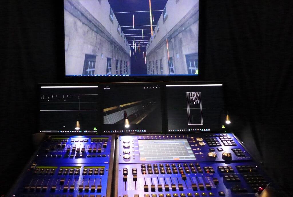 London theatre lighting