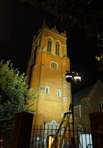 London stage lighting